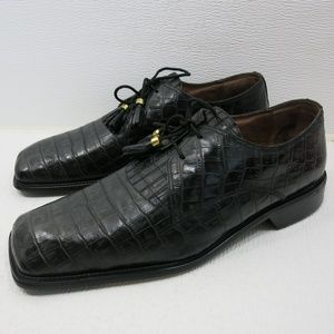 d15493a56d051 ... Deck Shoes 10.5 Florsheim Leather Dress Strap Kiltie Loafer 12 EEE Ramo  Alto Croco Print Leather Dress Oxfords 12 M ...